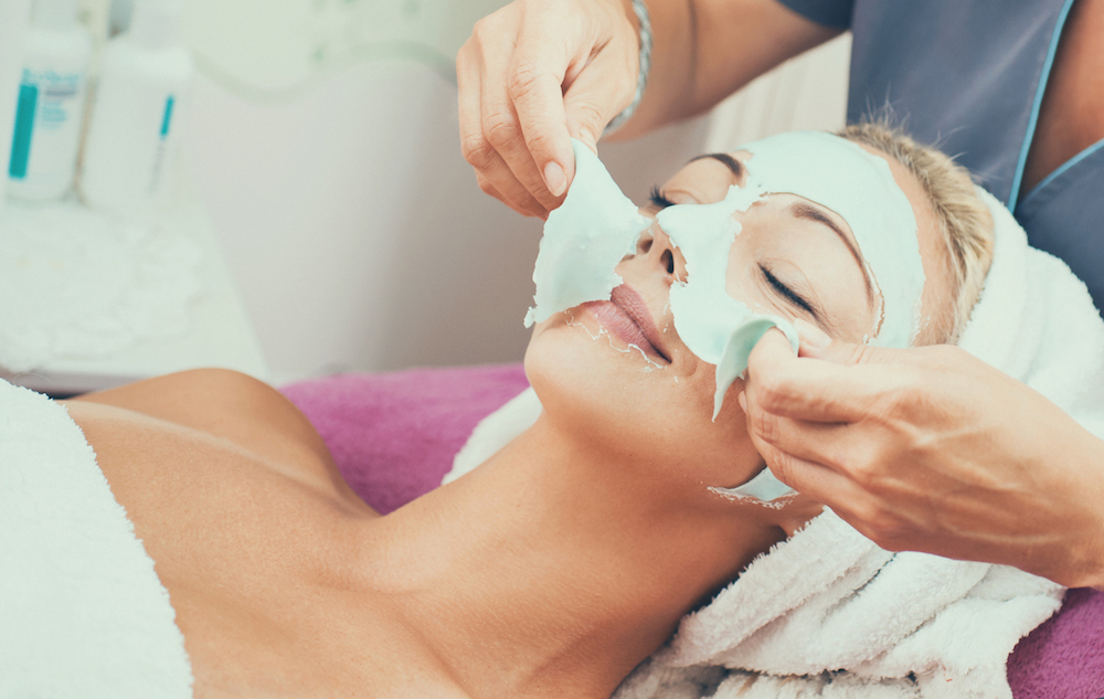 chemical skin peel for younger skin